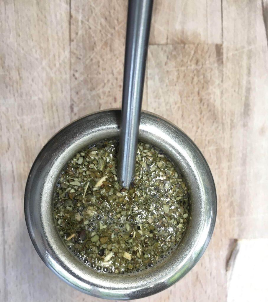 Tricks zum Zubereiten von Mate Tee