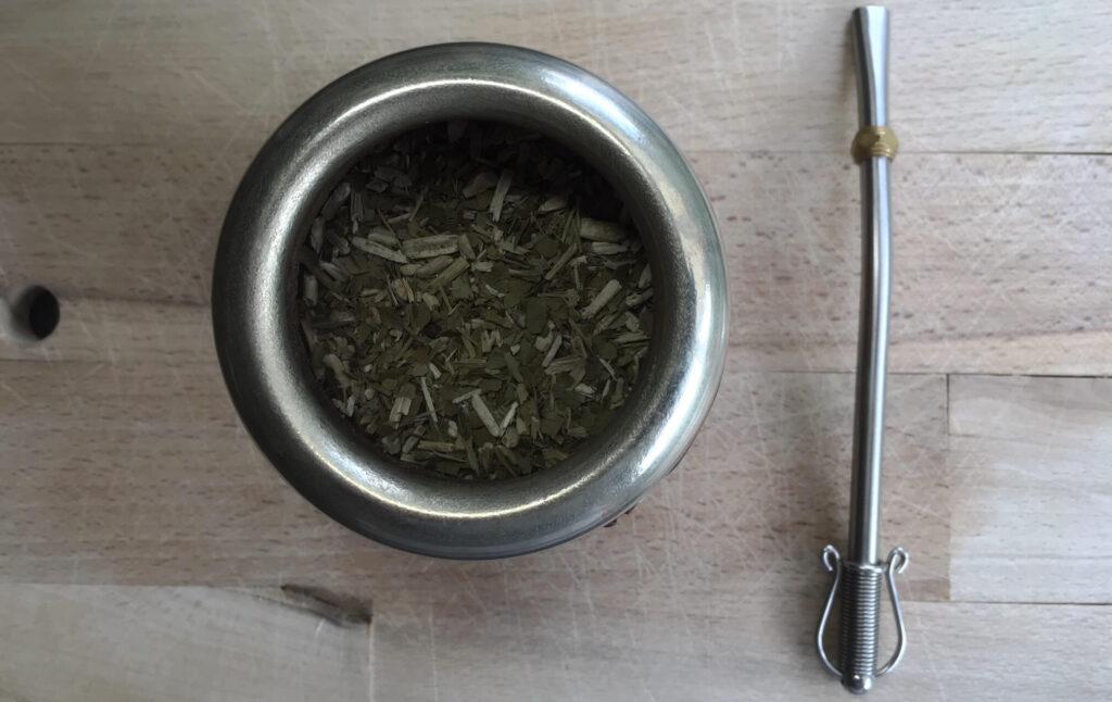 Mate Tee zubereiten