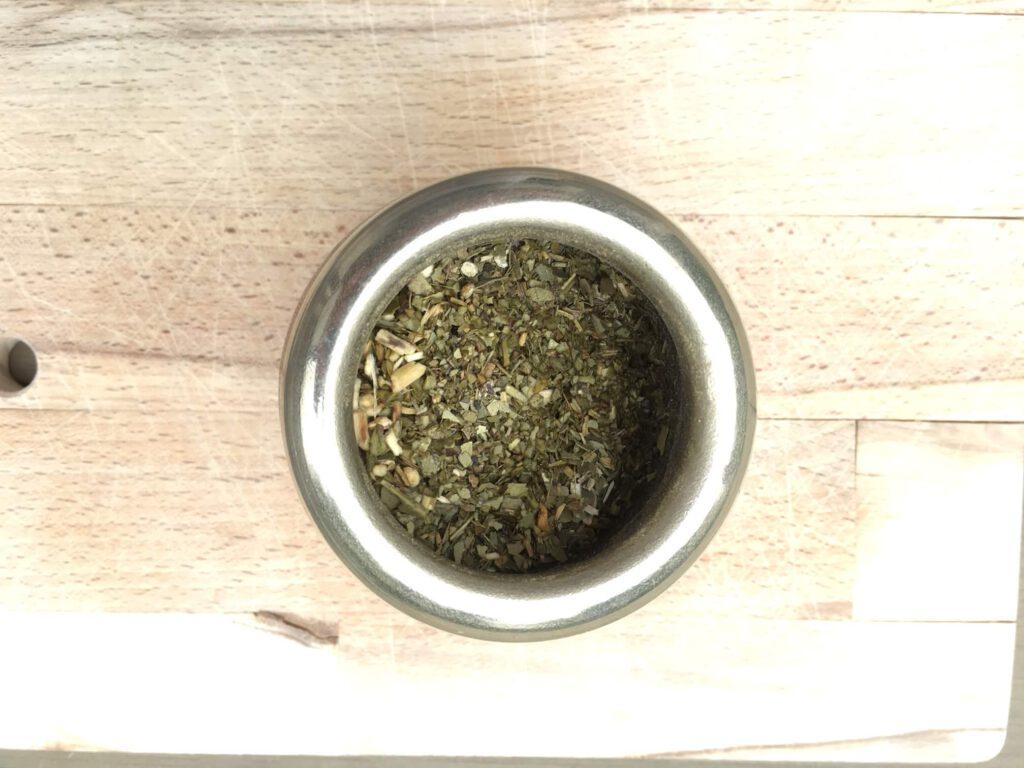 Anleitung für die Zubereitung von Mate Tee
